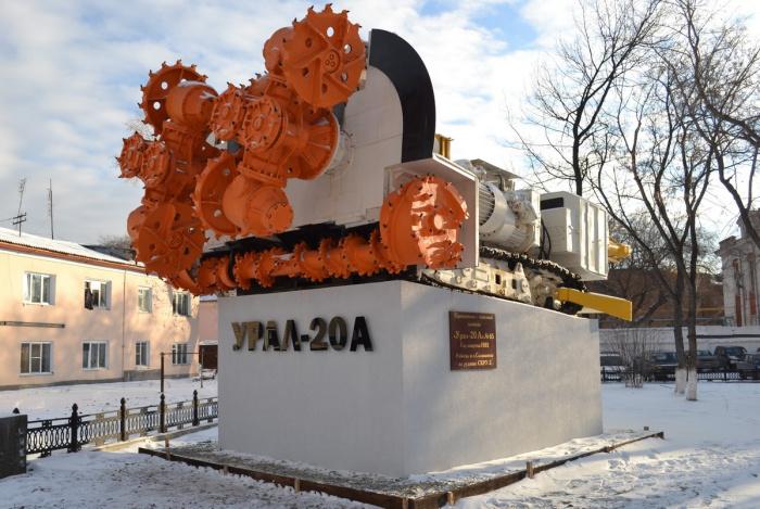 Куда исчез комбайн «Урал-20А» из заводского сквера?