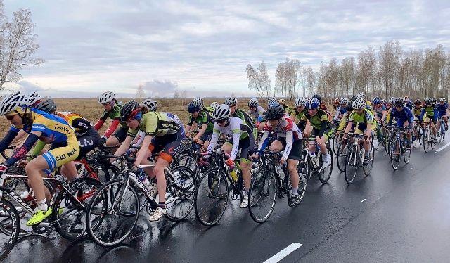 В Копейске прошло первенство России по велоспорту