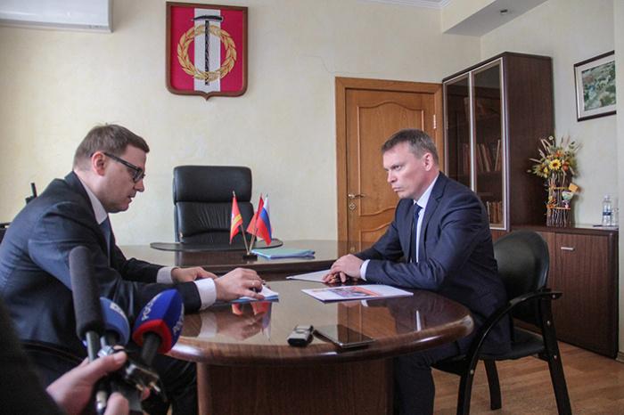 Алексей Текслер заявил о поддержке Андрея Фалейчика на выборах главы