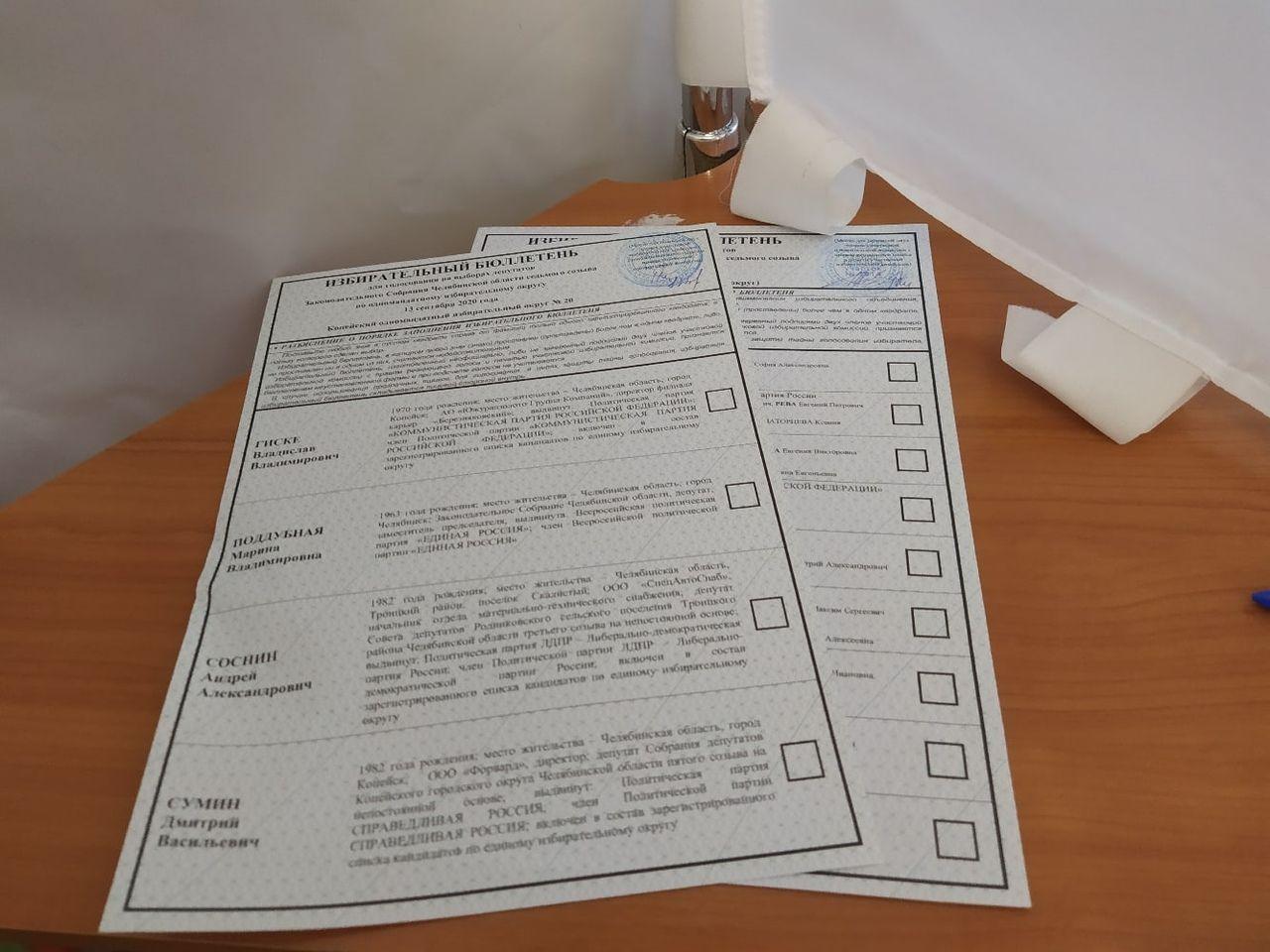 На Южном Урале завершился второй день голосования