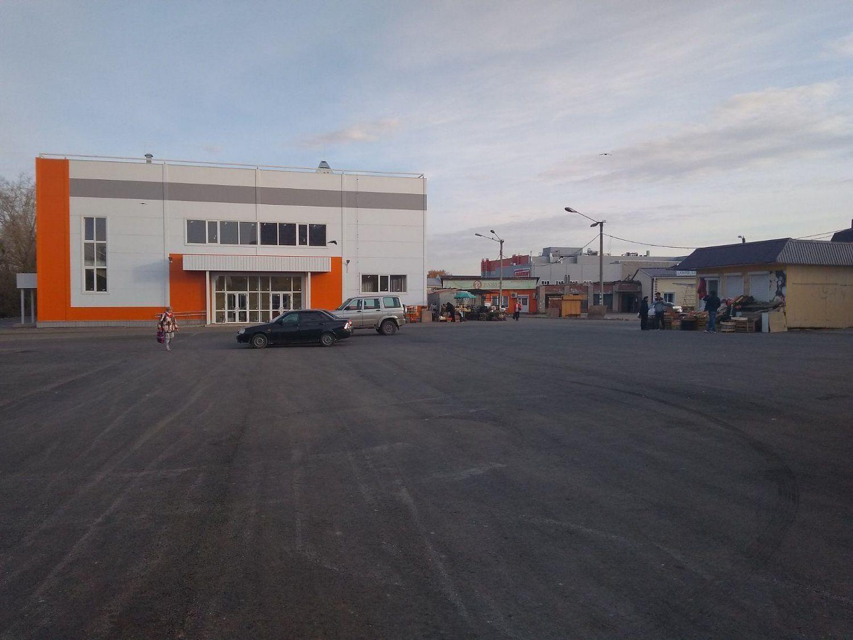 На автостанции Копейска сделали новый въезд, а также расчистили и заасфальтировали территорию